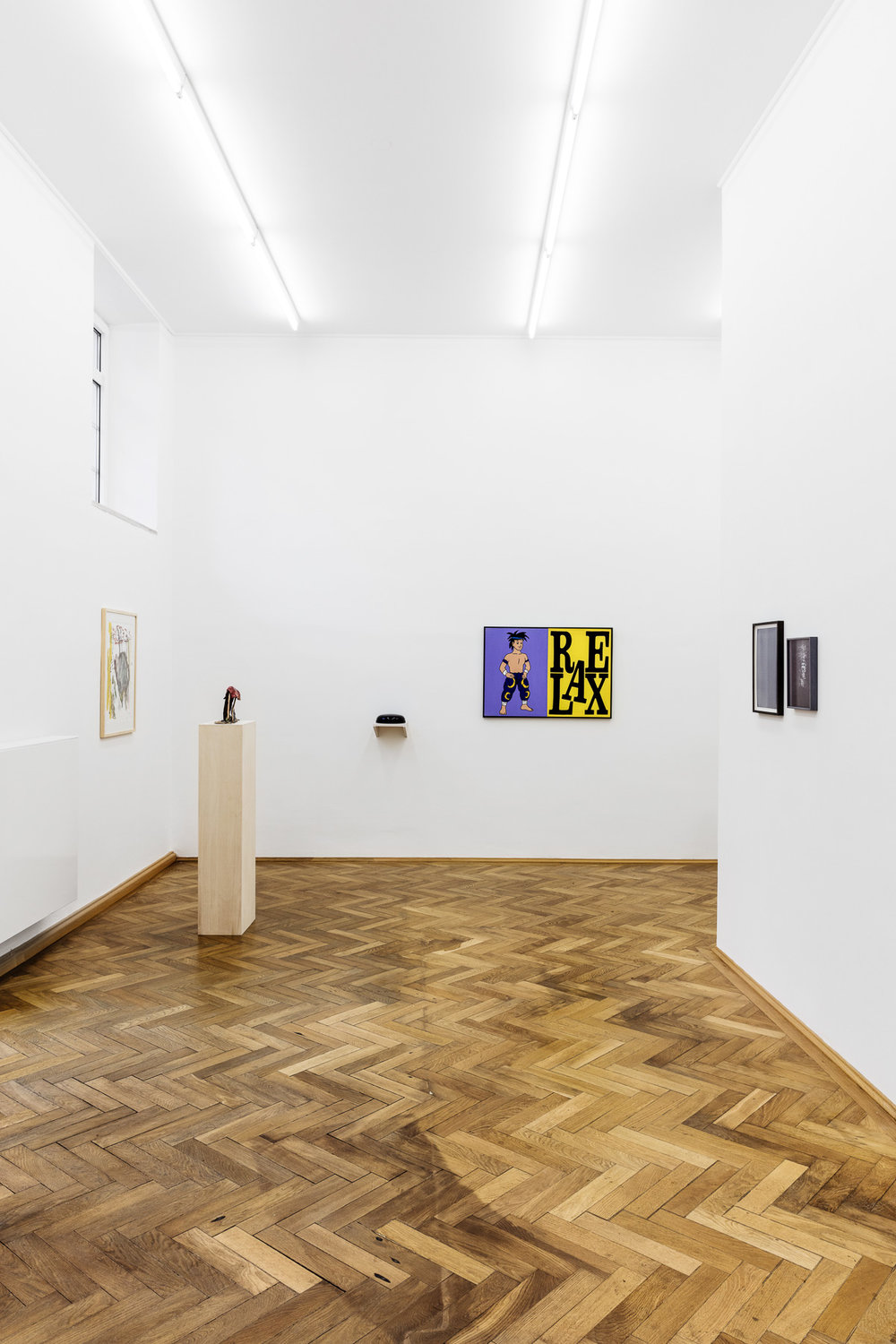 Two To Tango, installation view