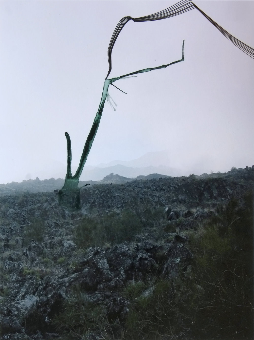 Anna Vogel, yet untitled, 2017, ink on pigment print, 22 x 17 cm