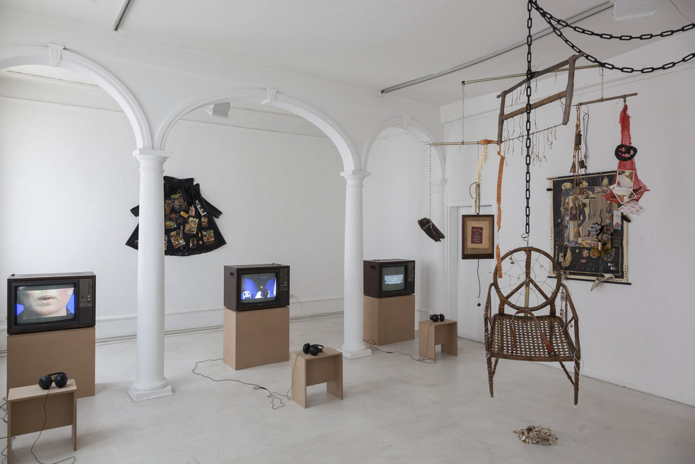 Anna McCarthy, What are people for?, 2017, exhibition view, Kunstverein Göttingen