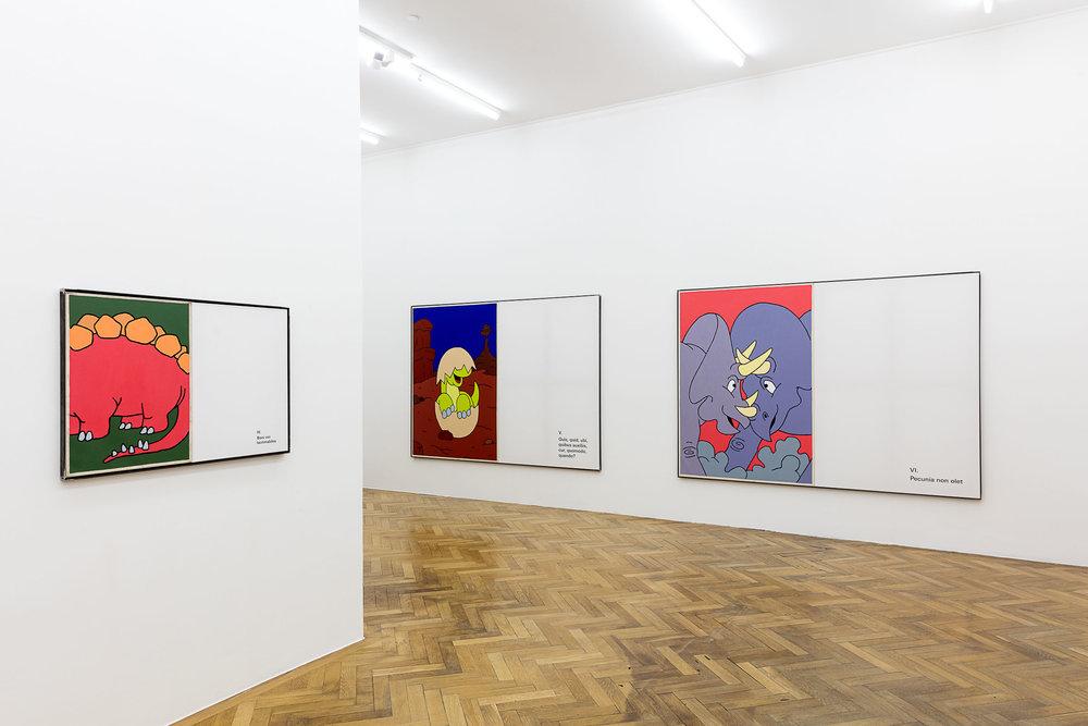 ART N MORE, ART N MORE AUS DER NEUEN WELT, installation view, 2018