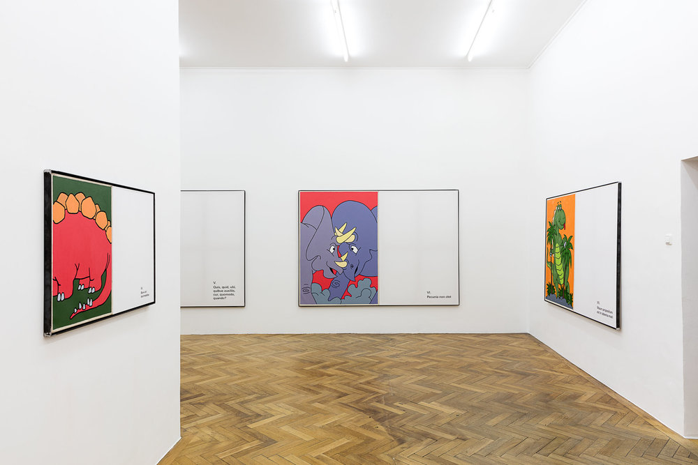 ART N MORE, ART N MORE AUS DER NEUEN WELT,installation view, 2018