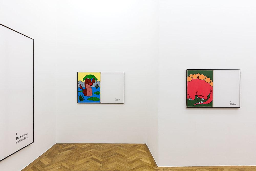 ART N MORE, ART N MORE AUS DER NEUEN WELT, SPERLING, Munich, 2018, installation view