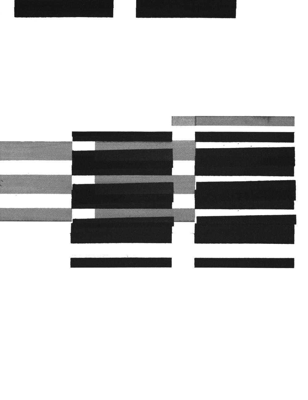 Hannah Regenberg, Studie, silkscreen, 2015