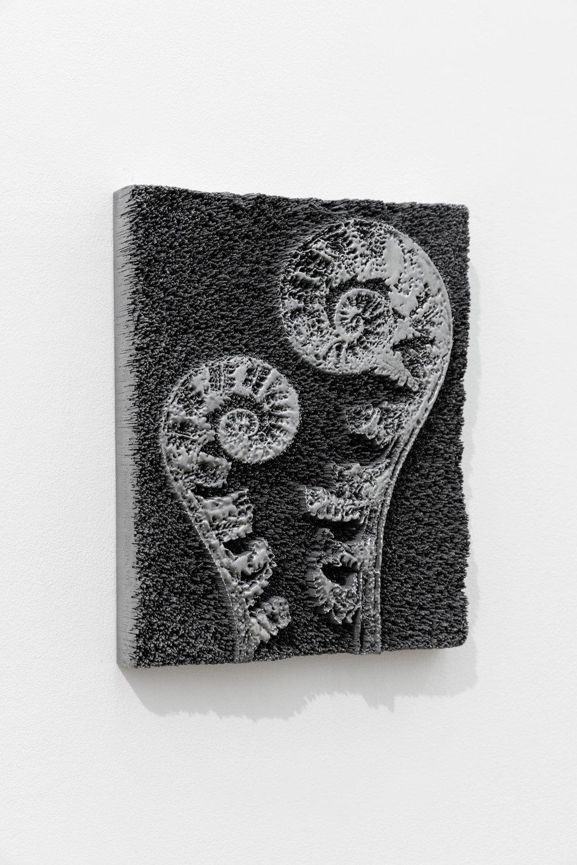 Spiros Hadjodjanos: Aspidium Filxmas, 2018, 3D Digital Print, Aluminium coated, 29.8x23.8x4.8