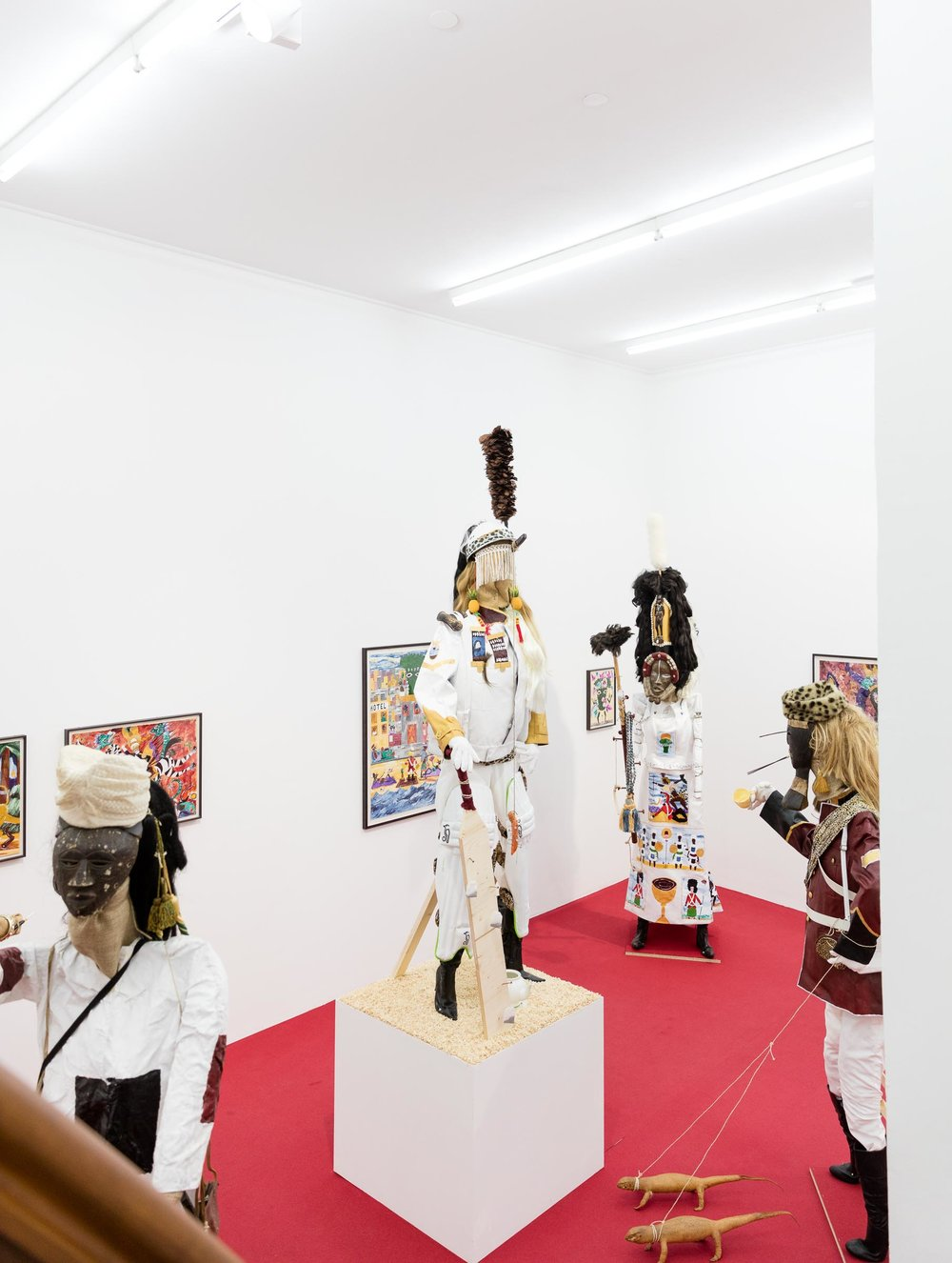 Andrew Gilbert: 'The Glorious Opening of Emperor Andrew's Museum', Exhibition View