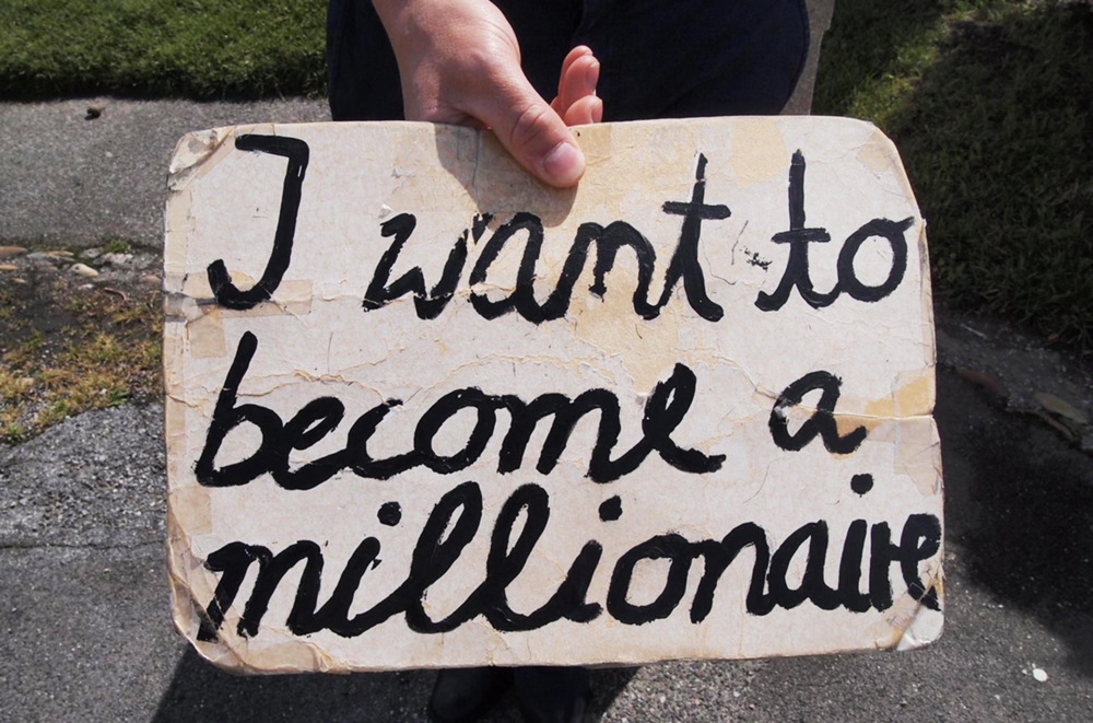 Thomas Geiger, I want to become a millionaire