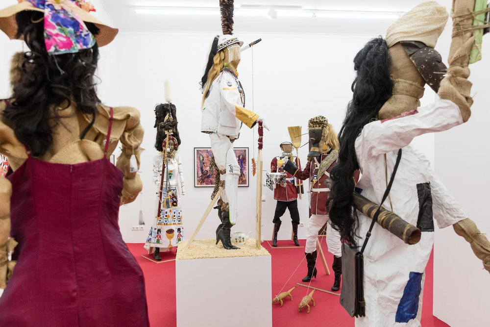Installation View, 'The Glorious Opening Of Emperor Andrew's Museum', SPERLING Munich, 2018