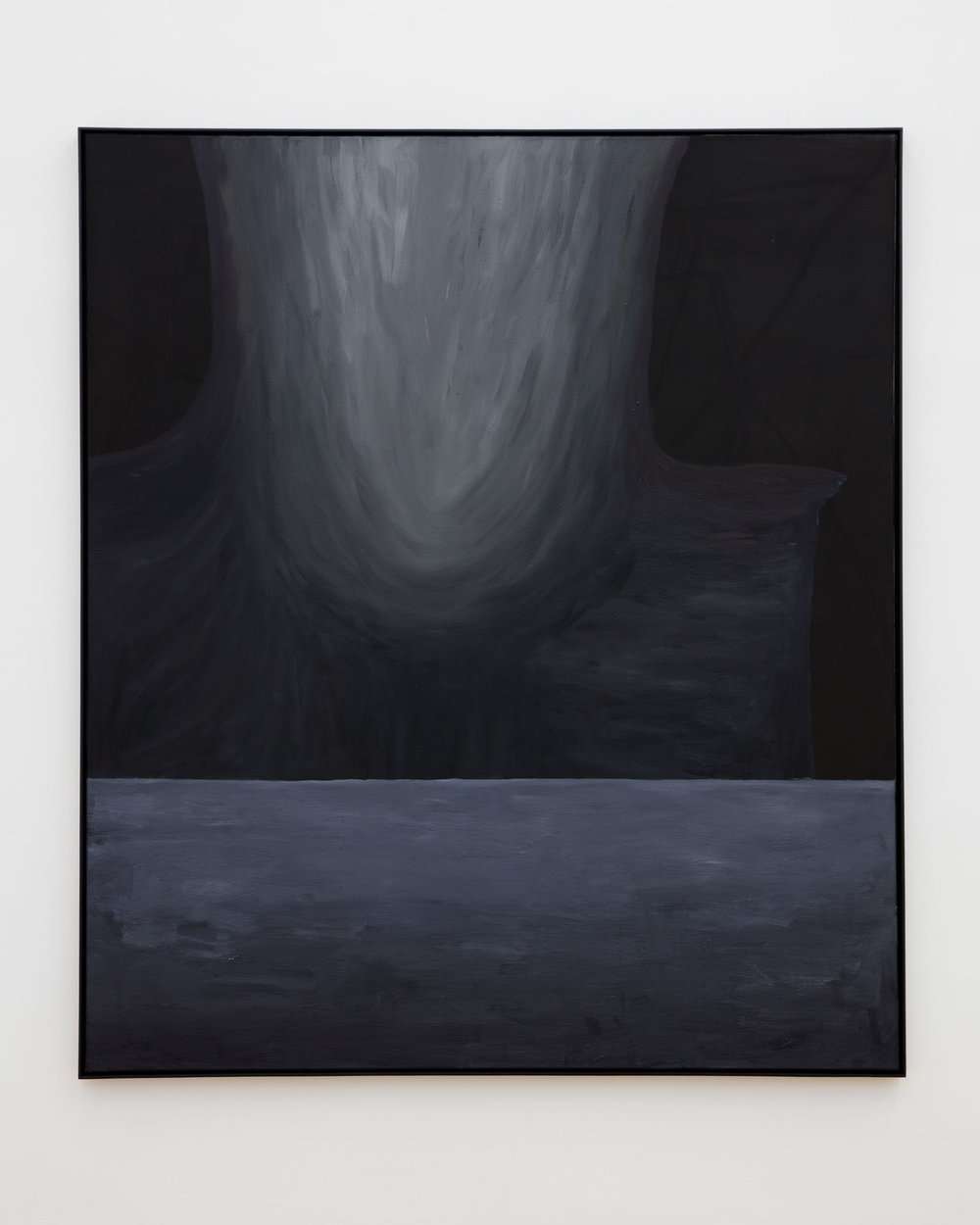 Veronika Hilger: Untitled, 2019, oil on canvas in artists frame, 150 x 130 cm