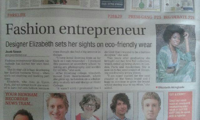 Newham Recorder Article