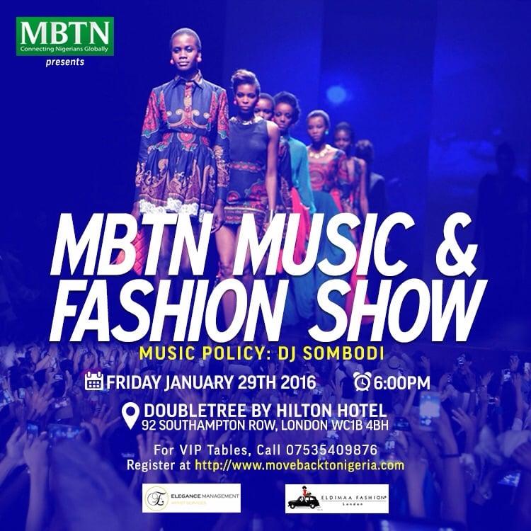 January 2016 Fashion Show