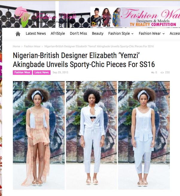 Fashion Walk Africa x Yemzi