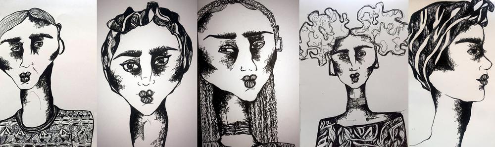 Djura's Yemzi Illustrations