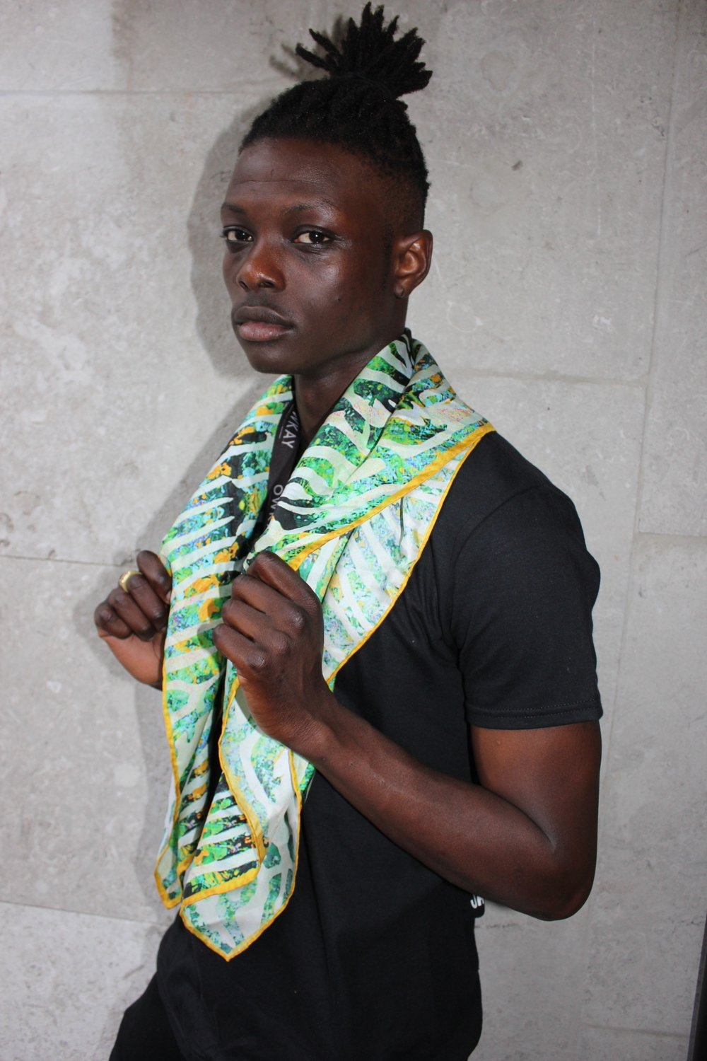 Male model King at Africa Utopia