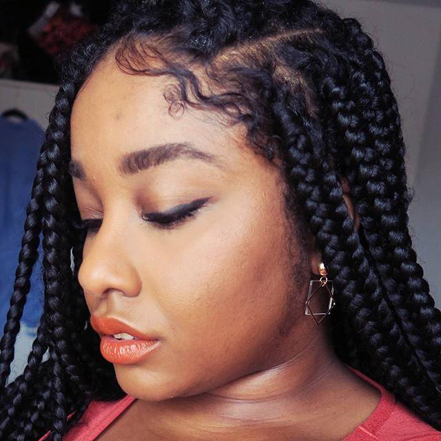 Rachael at home, serving hair goals