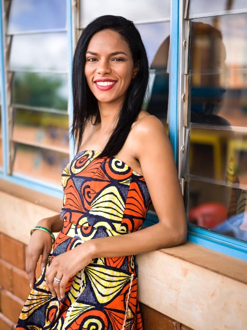 Noëlla Coursaris Musunka, #YemziGirl December. Image by Nisian Hughes.