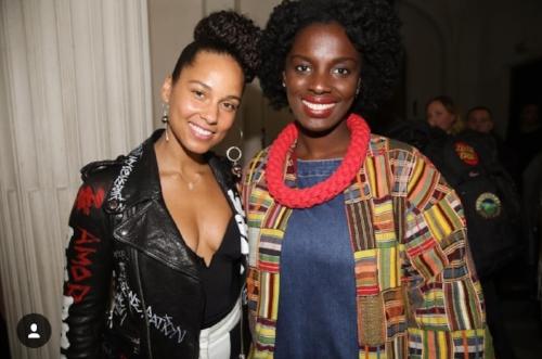 Agnes introduces Maama Adjei to Paris
