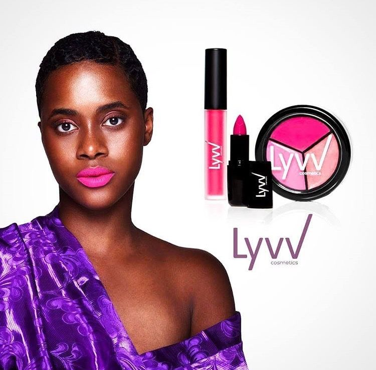 LYVV Cosmetics founded by #YemziGirl September,Victorine Sarr