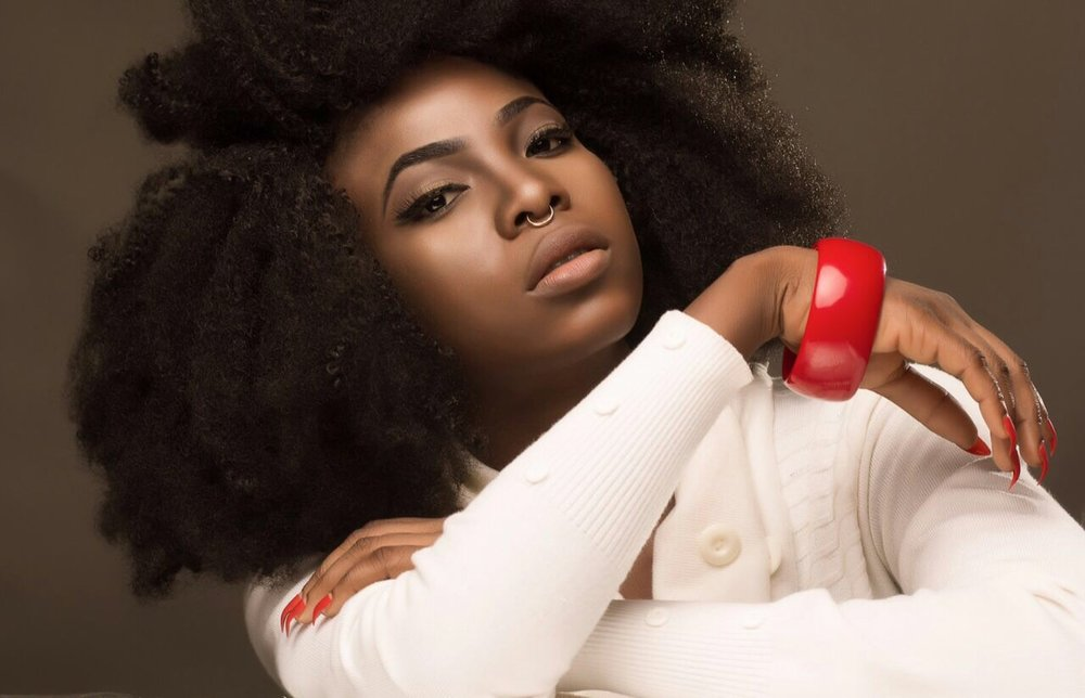 The talented beauty Edem Fairre, YemziGirl January