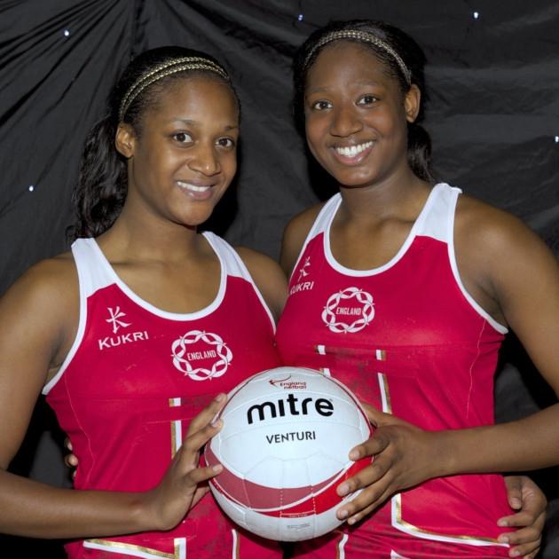 Sasha with her sister, Kadeen