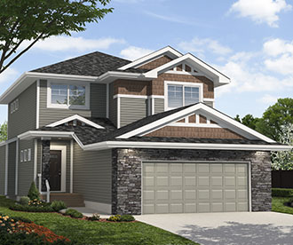 New Home Builder Edmonton the Stillwater Collection