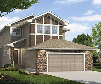 New Home Builder Edmonton the Stillwater Collection Skinnies Skinny Homes