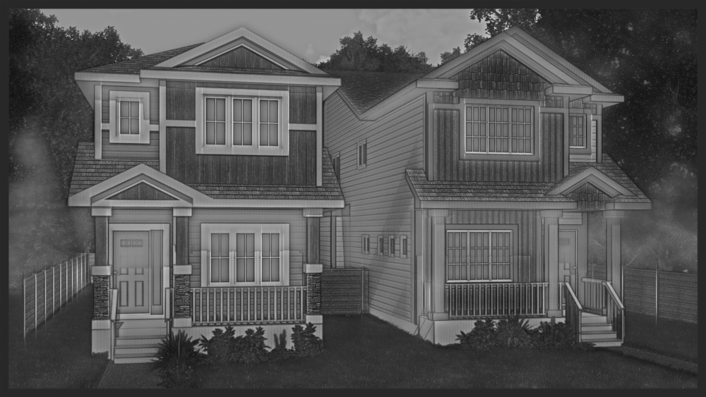 The Skinnies - Craftsman Edition Total: 1,747 sq.ft.