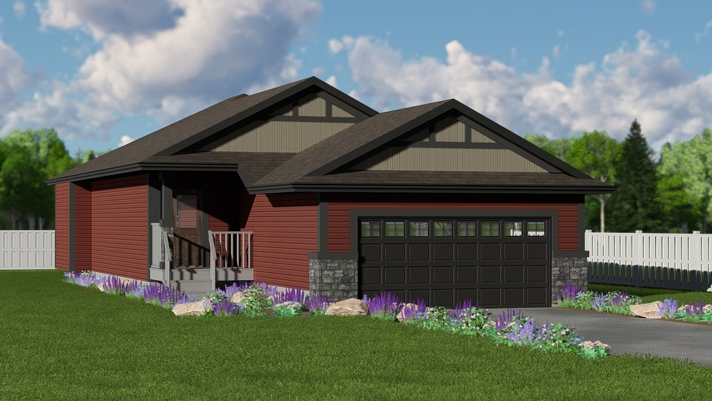 New Home Builder Edmonton Kirkland Homes The Gertrude