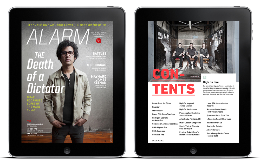 ALARM Magazine iPad Edition