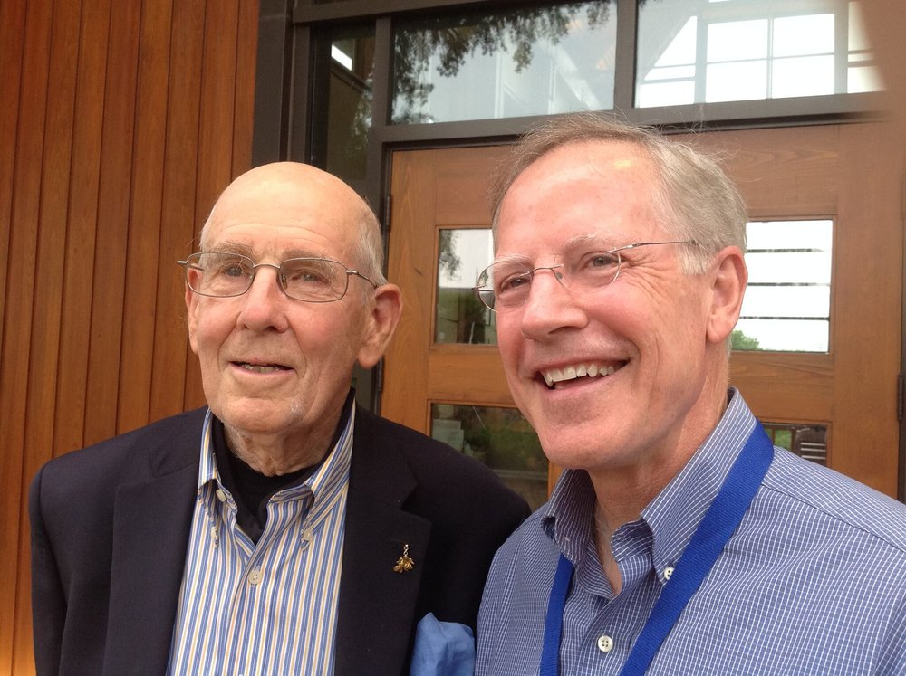 Founder Dr. A. Gary Shilling with  The Rev. Gary Jones