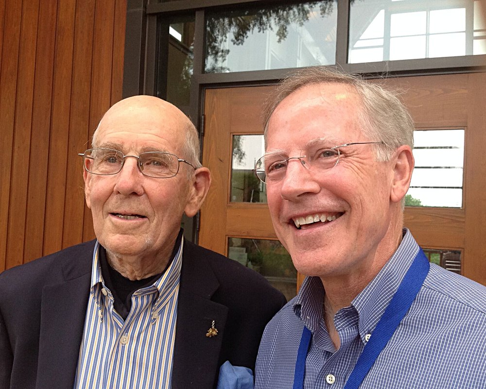 Founder, Dr. A. Gary Shilling with The Rev. Dr. Gary Jones