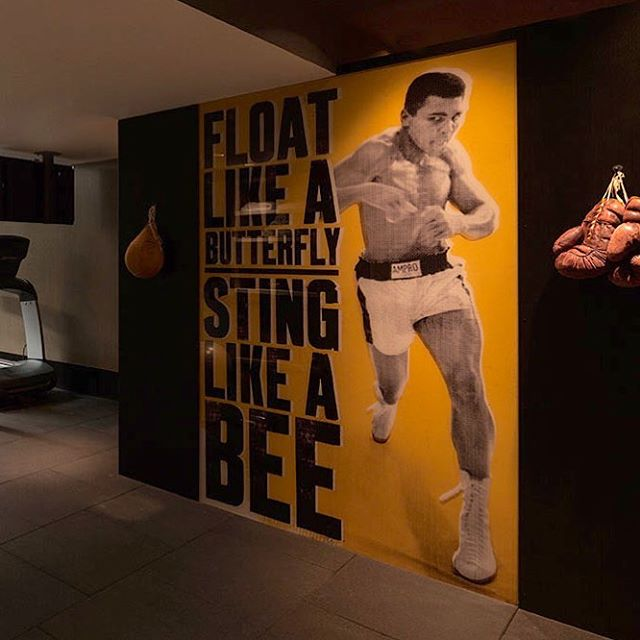 Tribute to Muhammad Ali Project in East Hampton., NY  #muhammadali #greatest  Visit us online at  gwdesign.com  Architecture - Interior Design - Furniture New York  Miami  Los Angeles