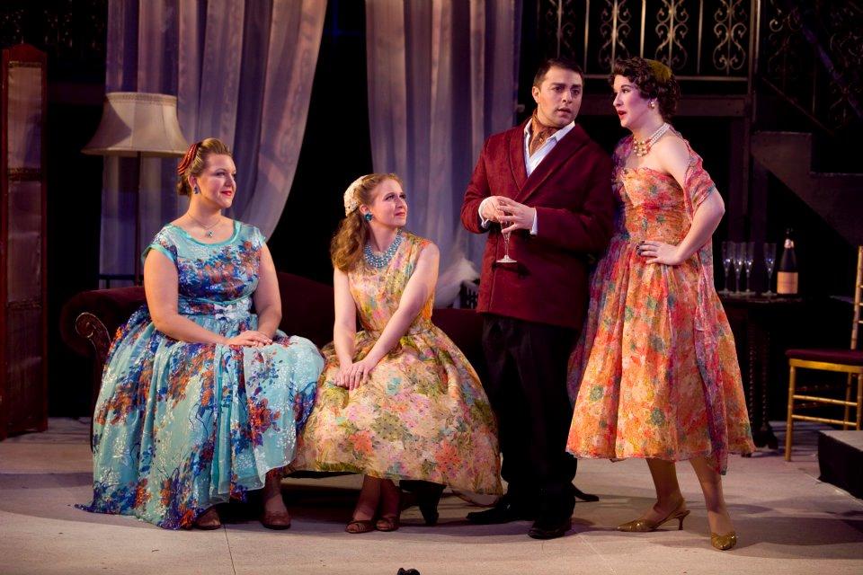 """Yvette in Puccini's """"La Rondine"""", 2010"""