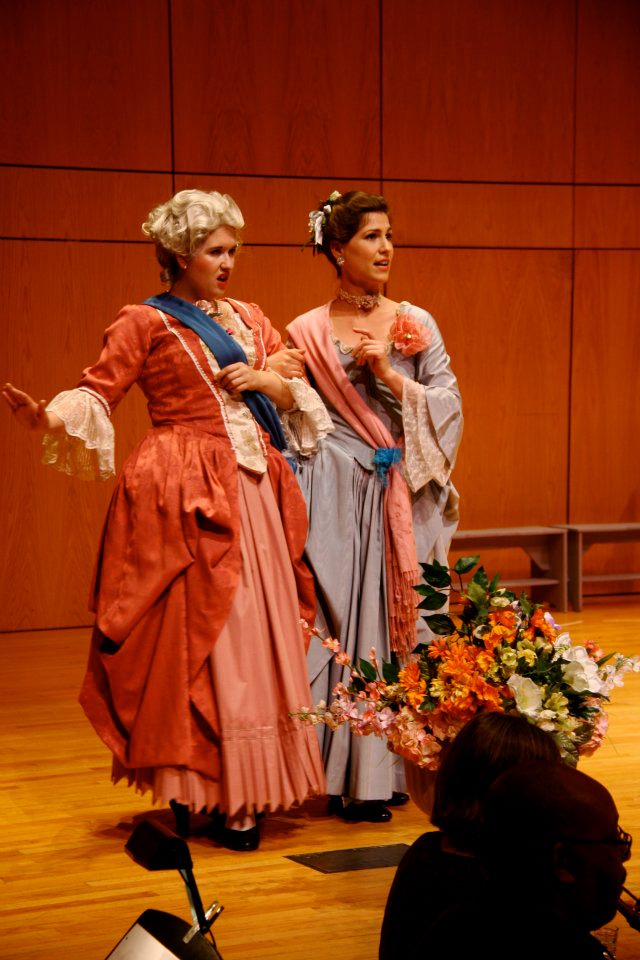 """Rodisette in Telemann's """"Der geduldige Socrates"""" at the Amherst Early Music Festival, July 2012"""