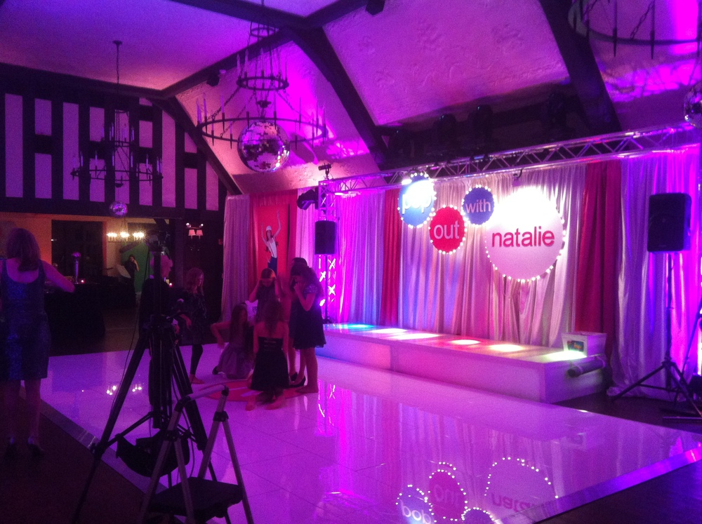 Lighting staging star trax events for 1 2 3 4 dance floor