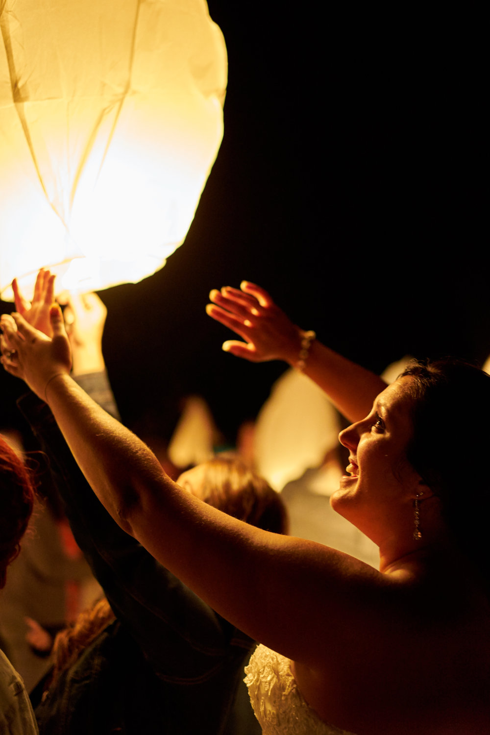 wedding bride chinese lantern