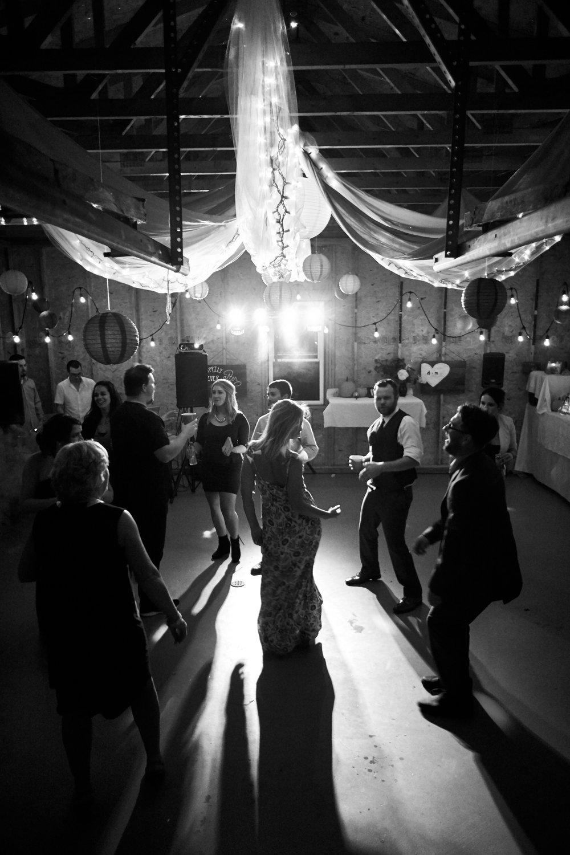 wedding bridesmaid dancing