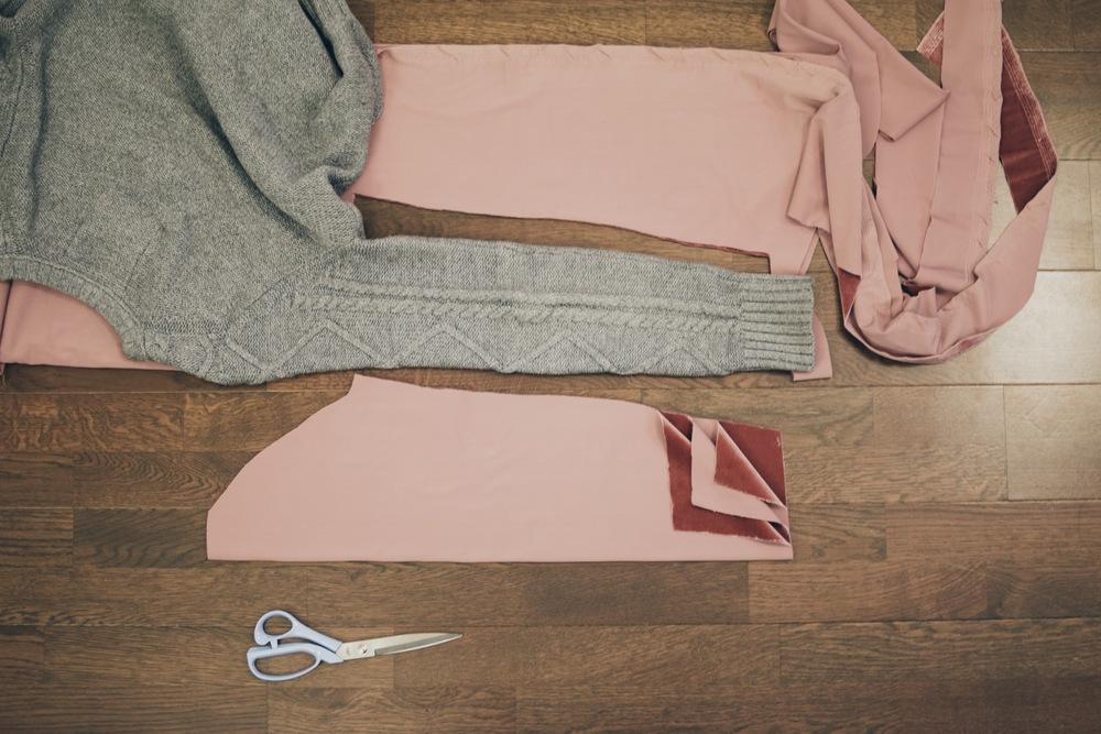 DIY: Velvet Cardigan/Kimono — withwendy