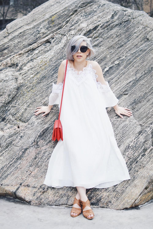 DIY: Off-Shoulder/Cold Shoulder Dress — withwendy