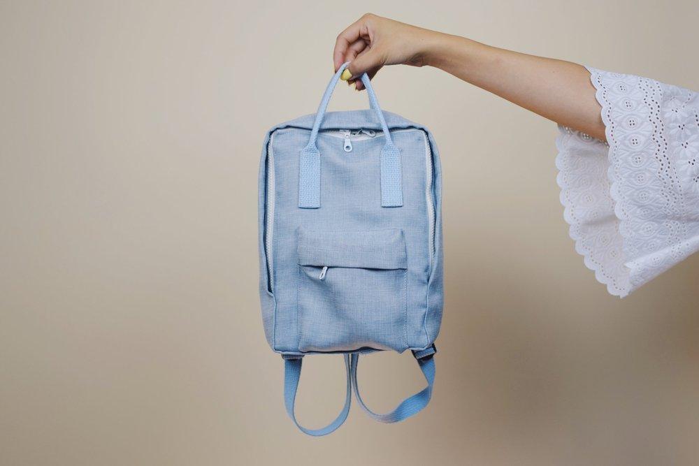df134ff6af6a DIY  Mini Backpack (Fjällräven Kånken style) — withwendy