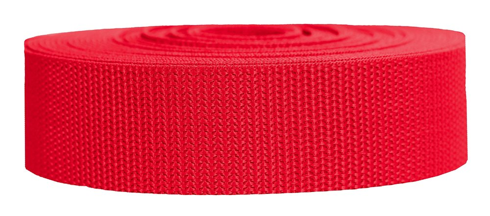 Heavyweight Polypropylene Webbing - (2.5mm, more colours available)