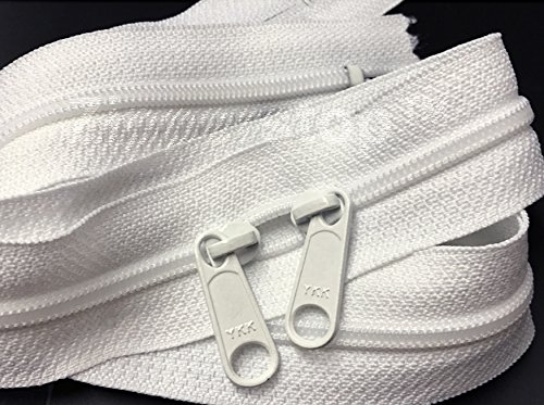 Double Slide Zipper - (101.5 cm, more colours available)