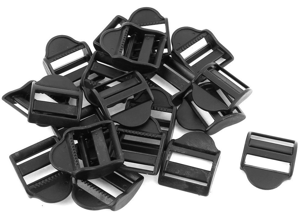 Backpack Buckles - (25 mm, black)