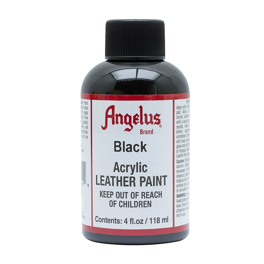Leather Acrylic Paint - Black