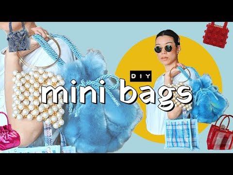 c2cb279315c6 DIY MINI BAGS (so cute and tiny!) | WITHWENDY