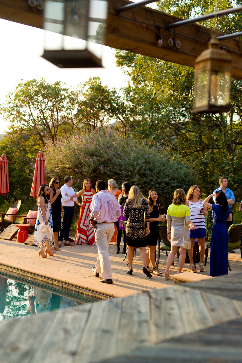 Corporate winery event in Napa Valley // ROQUE Napa Events