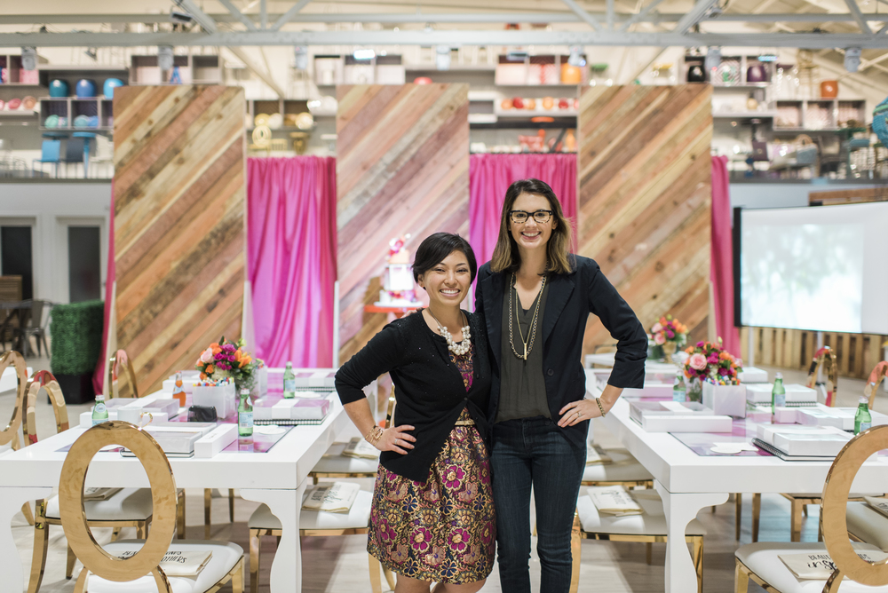 Mary Phan of The Sketchbook Series + Raquel Bickford of ROQUE Events