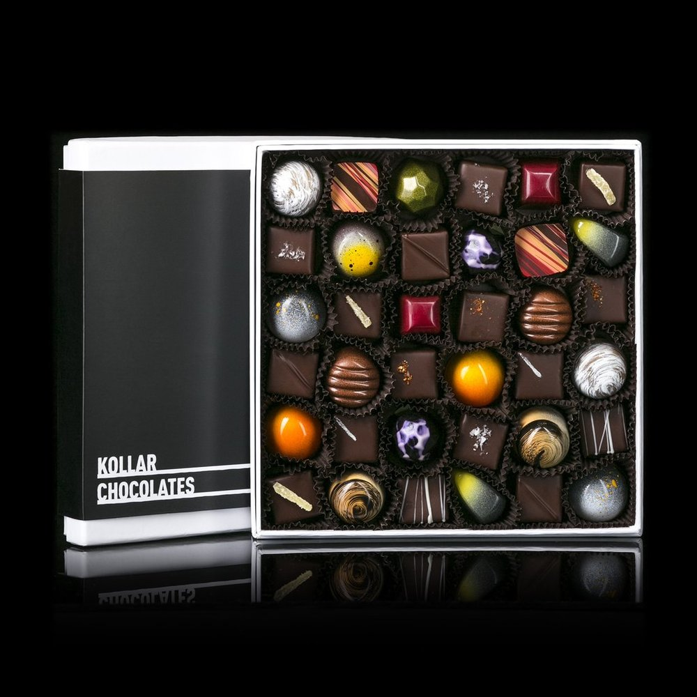 $69.00 via  Kollar Chocolates