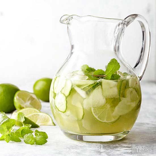 White Cucumber Sangria