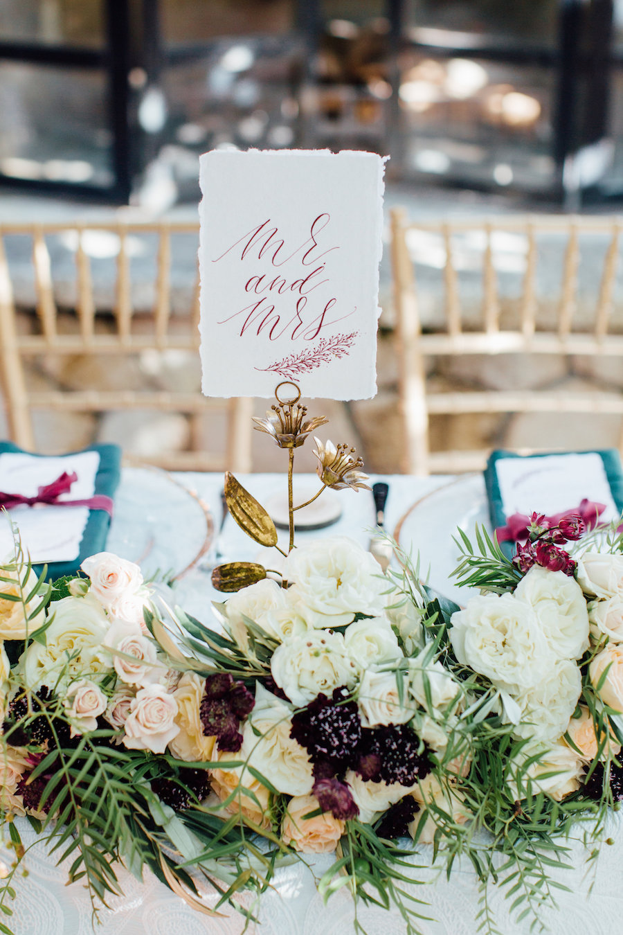 Chic Jewel-Toned Styled Shoot Featured on California Wedding Day11.jpg