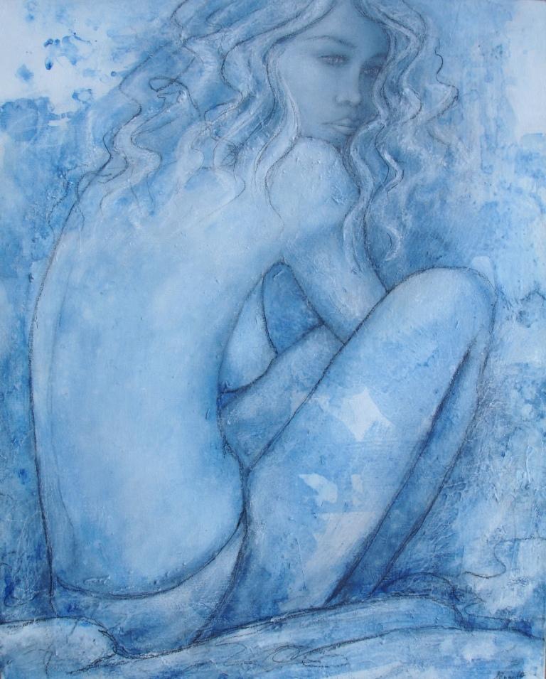 Mademoiselle Mystery, 40 x 50cm